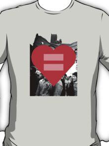 Equal Love Stonewall Heart T-Shirt