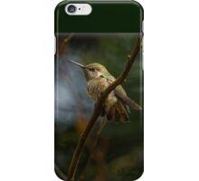 FLEDGLING ANNA HUMMINGBIRD iPhone Case/Skin