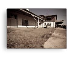Morpeth Garage Canvas Print