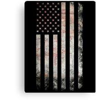 Vintage USA Flag Canvas Print