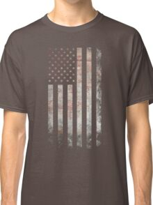 Vintage USA Flag Classic T-Shirt