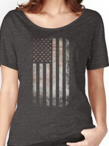 Vintage USA Flag Women's Relaxed Fit T-Shirt