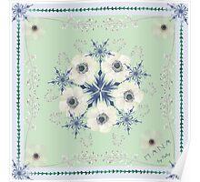 Ranunculus in winter Poster