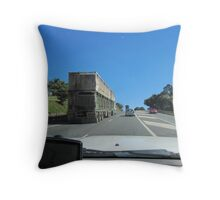 TOOT TOOT! Road Trains ahead, Pacific Hwy,East Coast,N.S.W. Throw Pillow