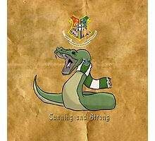 Slytherin: Cunning and Strong Photographic Print