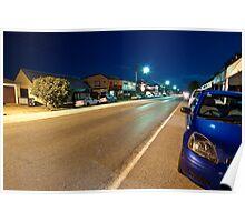 Morpeth Street at Night Poster
