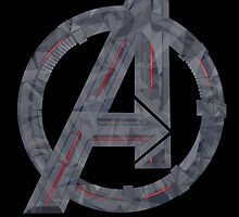 Age OF Geometric Ultron by ThePeacockMan