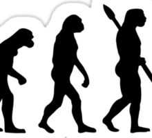 Evolution secretary Sticker