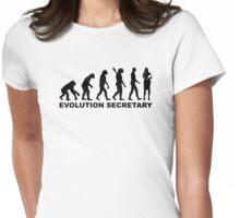 Evolution secretary Womens Fitted T-Shirt