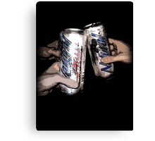 Natty Light: Party Time!  Canvas Print