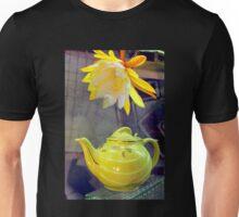 Lemon Glazed Madeleine With Tea Unisex T-Shirt