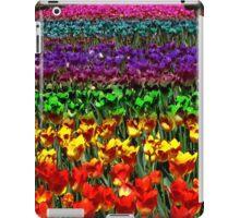 Rainbow Tulips iPad Case/Skin