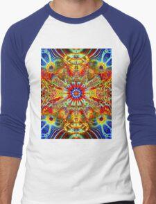 Cosmic Creatrip2 - Psychedelic trippy visuals Men's Baseball ¾ T-Shirt