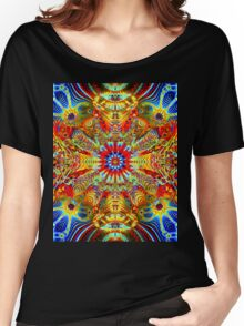 Cosmic Creatrip2 - Psychedelic trippy visuals Women's Relaxed Fit T-Shirt