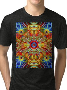 Cosmic Creatrip2 - Psychedelic trippy visuals Tri-blend T-Shirt