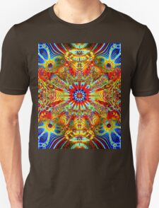 Cosmic Creatrip2 - Psychedelic trippy visuals Unisex T-Shirt