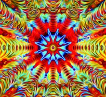 Cosmic Creatrip2 - Psychedelic trippy visuals Sticker