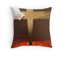 The die is cast Throw Pillow