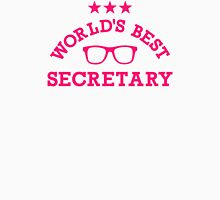 World's best secretary Womens Fitted T-Shirt