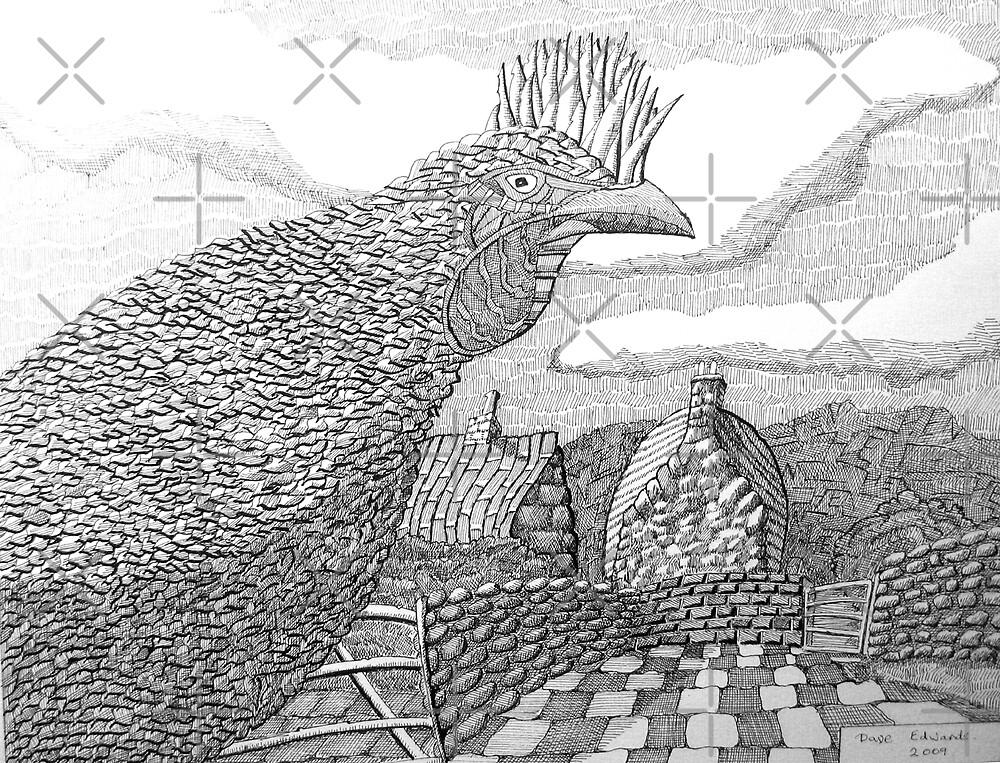 220 - HEN - DAVE EDWARDS - INK - 2009 by BLYTHART
