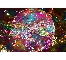 Crystal Ball Photographic Print