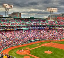 Opening Day at Fenway  by Bruce Taylor