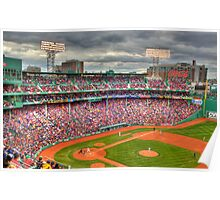 Opening Day at Fenway  Poster