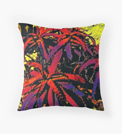Aloe 1 Throw Pillow