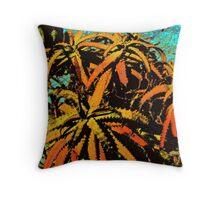 Aloe 2 Throw Pillow