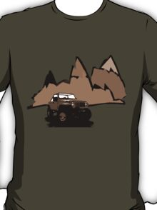 Jeeping It!: BROWN T-Shirt