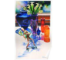 """Parasol"", Watercolor, Paul Jackson""Parasol"", Watercolor Poster"