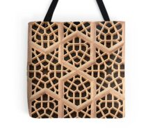 Old Islamic Stone Grill  Tote Bag