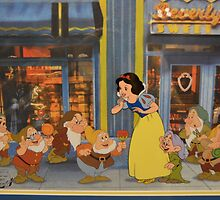 Disney Snow White and the 7 Dwarfs Dopey Disney Princesses Villians by notheothereye