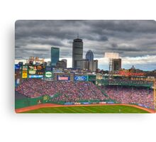 Fenway on Opening Day Canvas Print