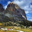Sassolungo Scale! The Dolomites by Amanda White