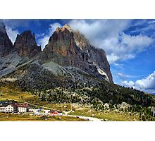 Sassolungo Scale! The Dolomites Photographic Print