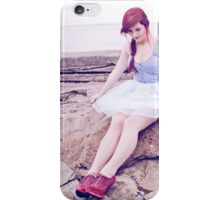 Floating on a Sea Breeze iPhone Case/Skin