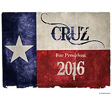 Ted Cruz (R) for President! Photographic Print