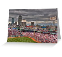 Fenway on Opening Day Greeting Card