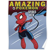 The Amazing Spider-Mew Poster