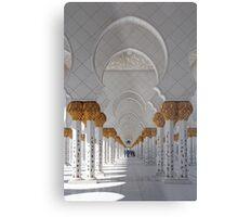 Sheikh Zayed Mosque, Abu Dhabi Metal Print