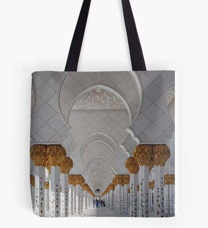 Sheikh Zayed Mosque, Abu Dhabi Tote Bag