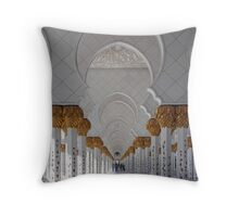 Sheikh Zayed Mosque, Abu Dhabi Throw Pillow