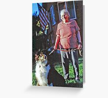 In Rembrance of Vickie---My Mom Greeting Card