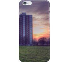 Moor Tower Sunset iPhone Case/Skin