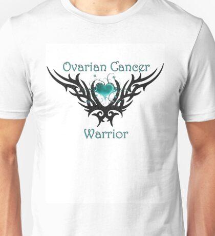 Ovarian Cancer Warrior Unisex T-Shirt