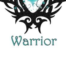 Ovarian Cancer Warrior Sticker