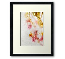 Tulip Glow - Textured Framed Print