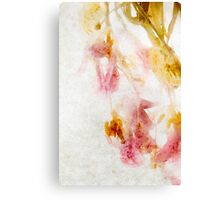 Tulip Glow - Textured Canvas Print