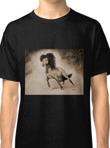 """A Free & Untamed Spirit"" - Sepia version Classic T-Shirt"